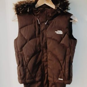 Northface Prodigy 600 Brown Goose-Down Vest